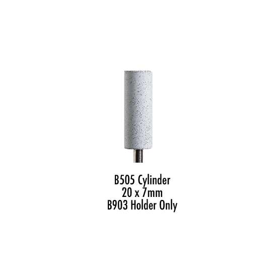 Wagner Silicone Cylinder White Coarse D7/20 B505 Pack of 100 Pieces